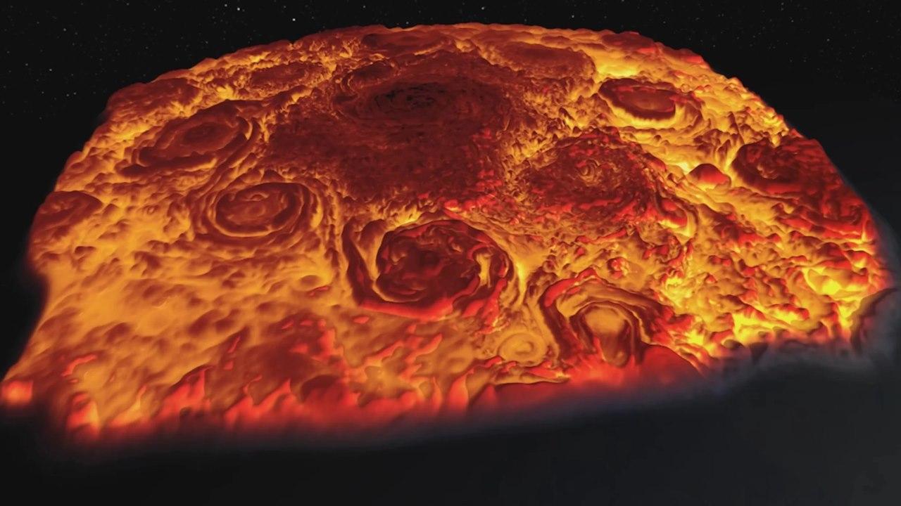 Полюс Юпитера