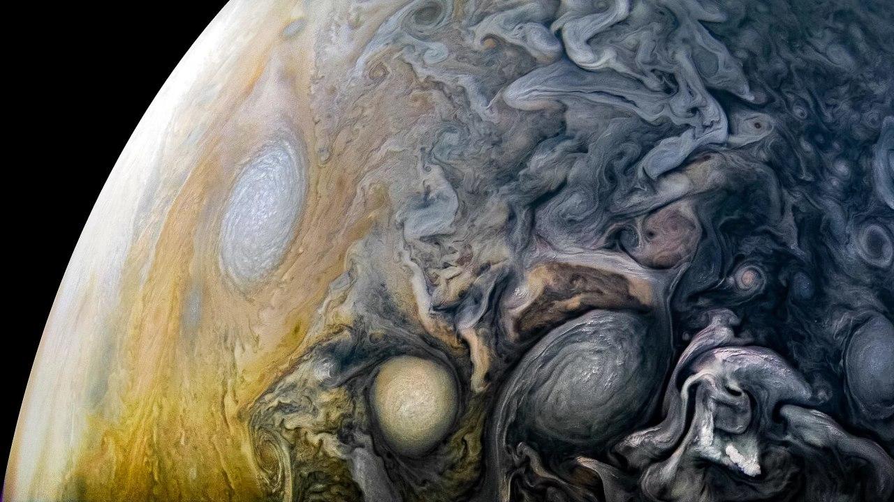 Ураганы Юпитера