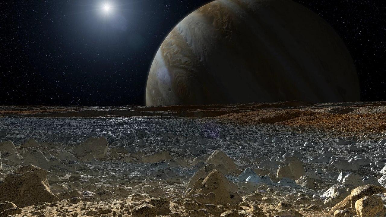 Европа и Юпитер