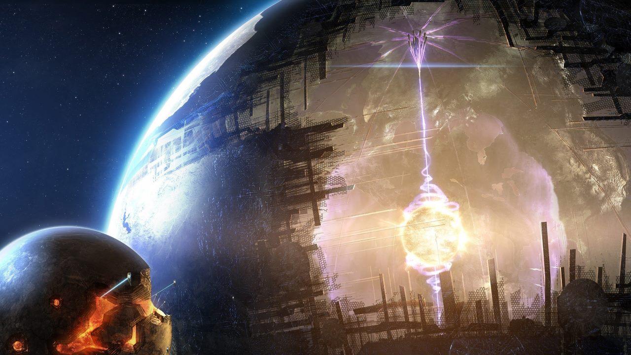Инопланетная мегаструктура
