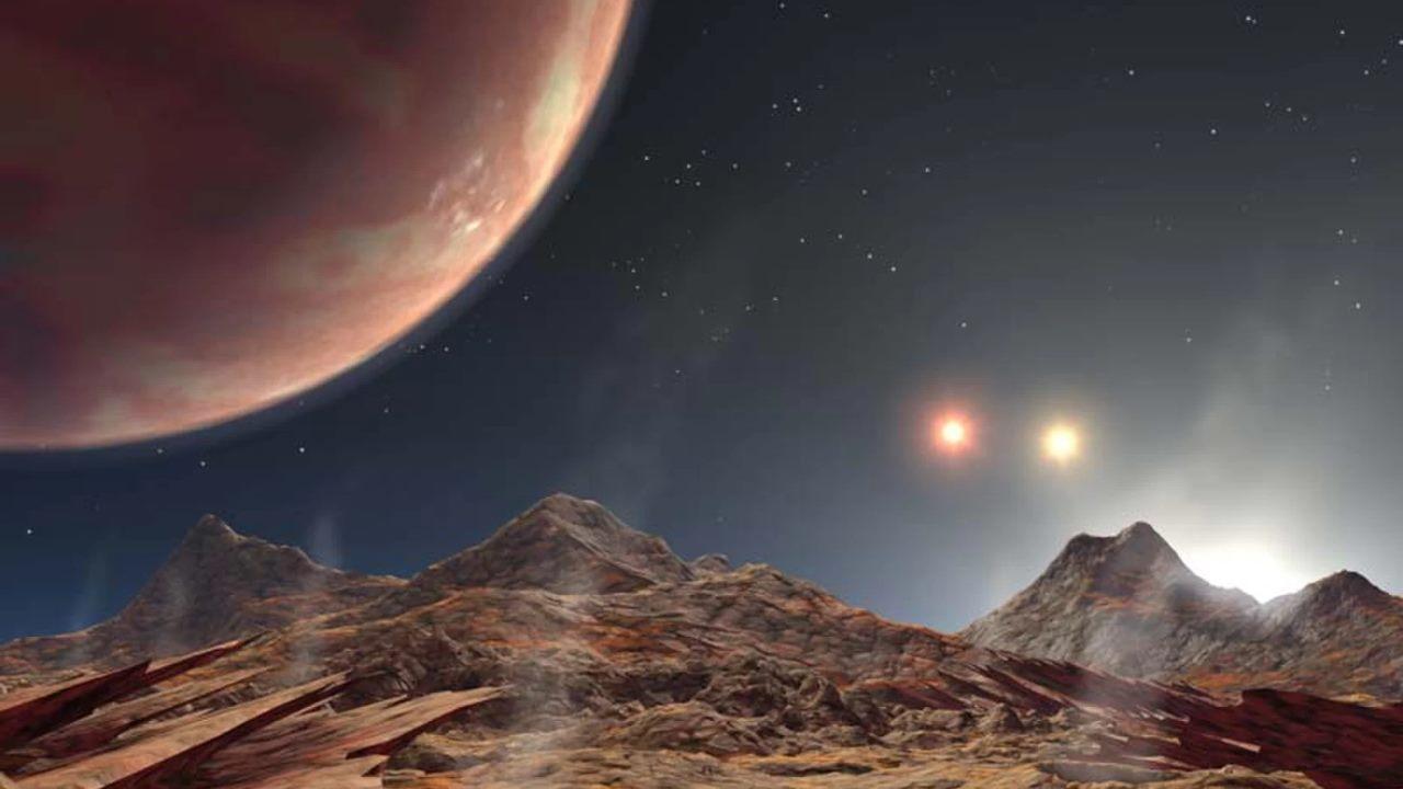 Трехзвездная система