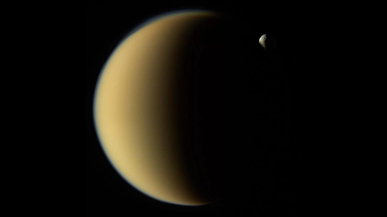 Титан и Тефия