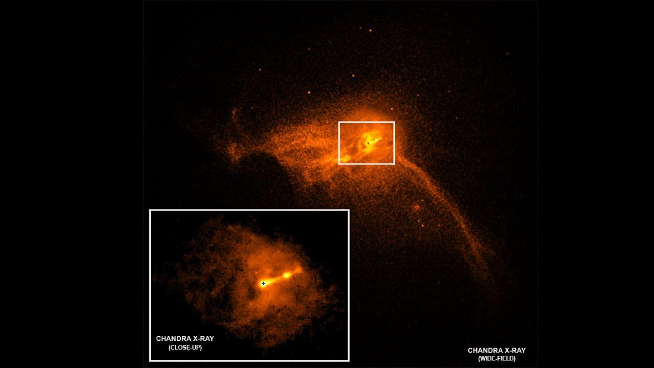 Фото чёрной дыры