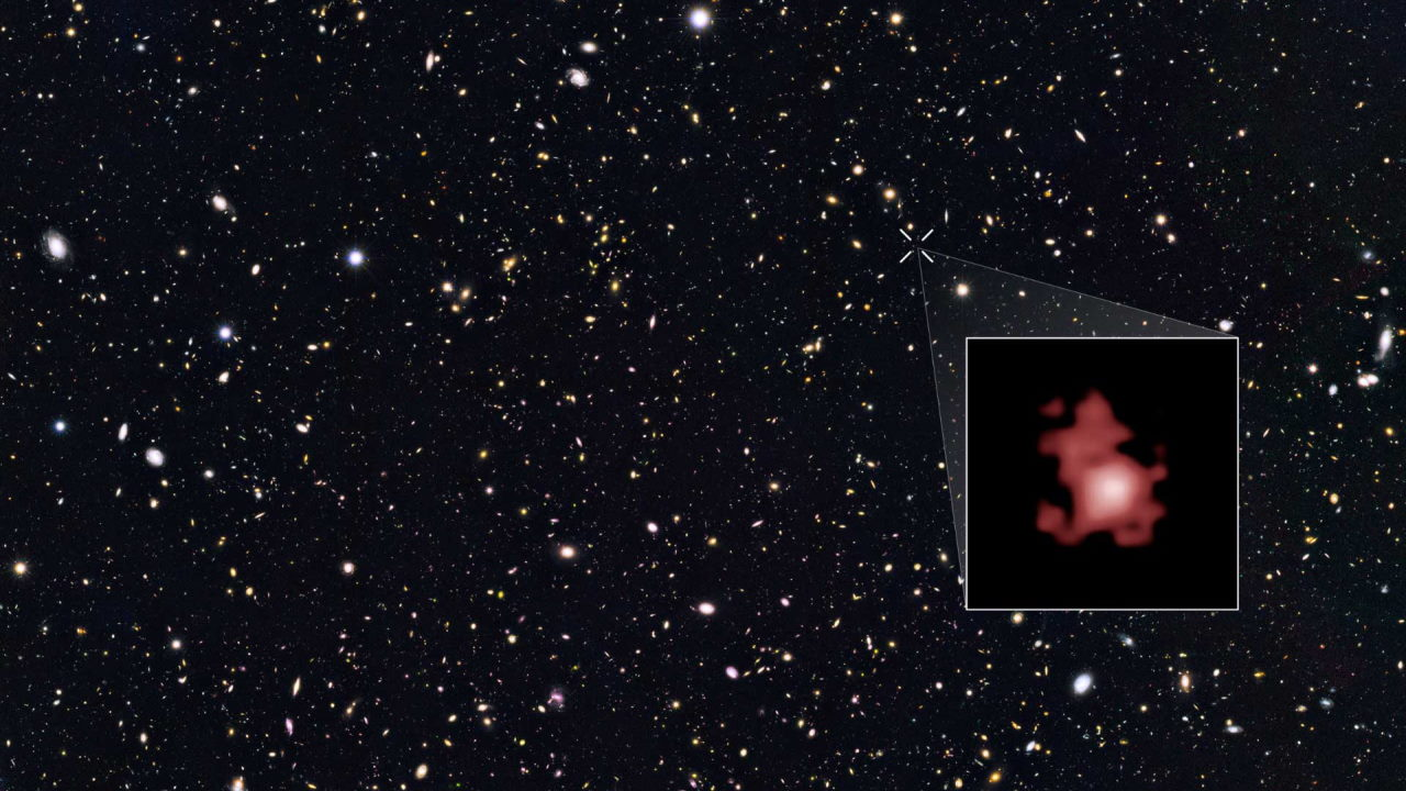 Самая далёкая галактика